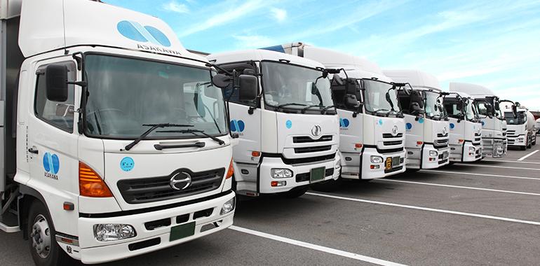 陸上輸送業務 | 業務案内 | 浅川組運輸株式会社